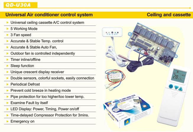 Air Conditioner Universal Pcb Board Qd U30a Qingdao
